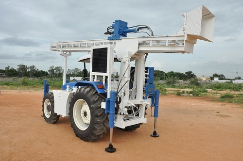 Quality Tractor Mounted Drilling Rig (Machine)
