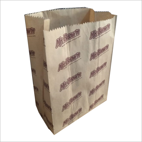 Printed Paper Grocery Bag