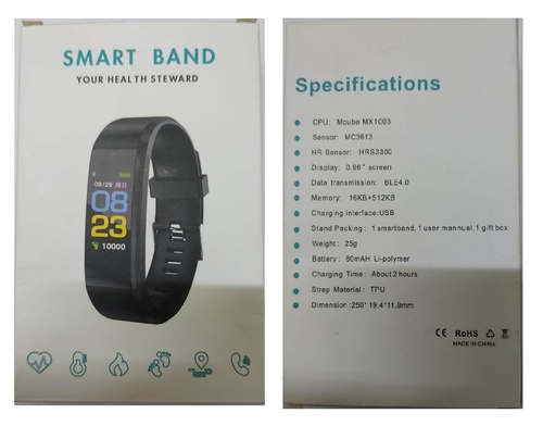 ID115 Smart Brecelet Fitness Band