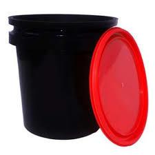 Plain Lubricant Oil Bucket