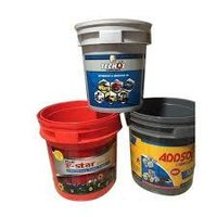 printed lubricant oil bucket