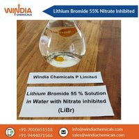 Lithium Bromide 55% solution with Nitrate Inhibited