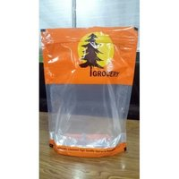 Grocery Printed Pouch with Standy & Ziplock