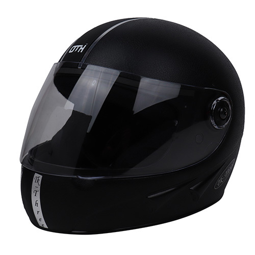 Black Full Face Helmet