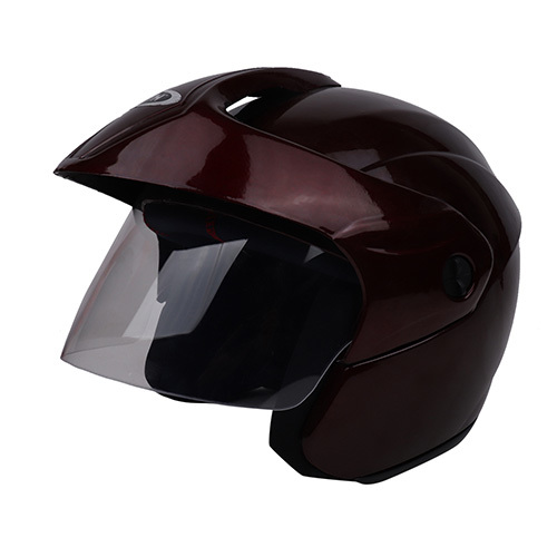 Half Face Helmet With Visor