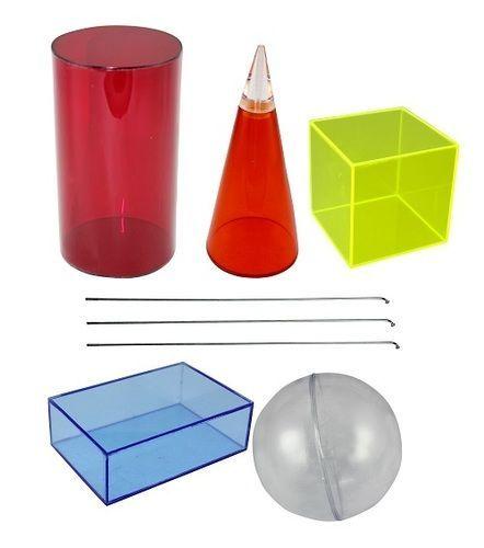Transparent Acrylic figures model