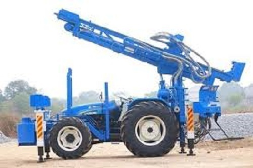 High Efficiency Tractor Mounted Water Well Drilling Rig