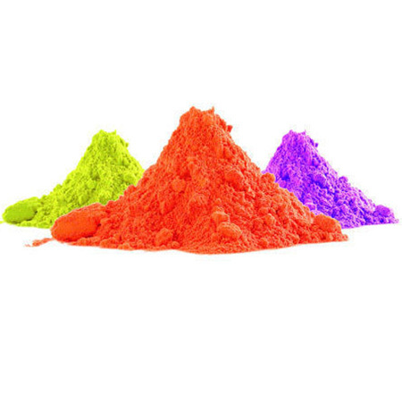 Fluorescent Pigments for Holi Colours