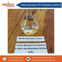 Lithium Bromide 55% Solution with Molybdate Inhibited.