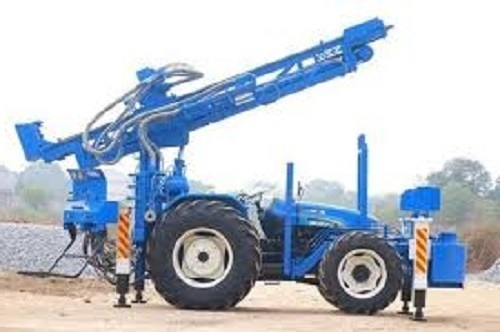DTH Combination Rig Mounted on Tractor