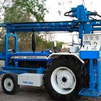 Tractor Mounted Bore Hole Core water Well Rotary Drilling Rig