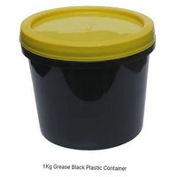 1Kg Grease Black Plastic Container
