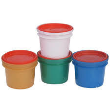 500Gm Grease Plastic Container
