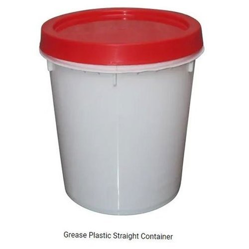 Grease Plastic Straight Container