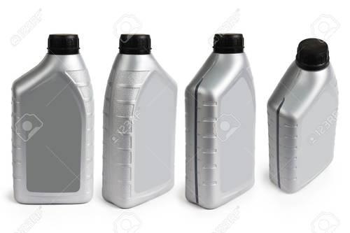 Plastic Engine Oil Container