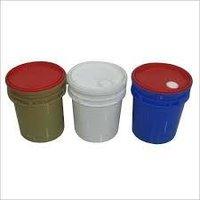 plastic lube oil container