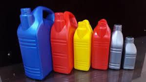 Plastic Lubricant Oil Container