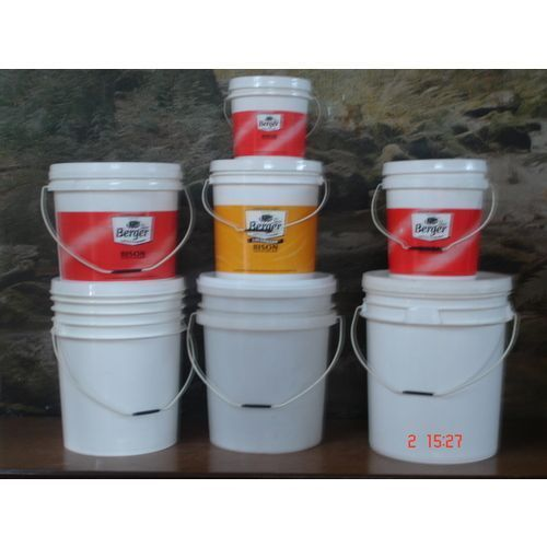 Printed Plastic Paint Container