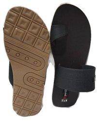 Men's Black Rubber Slipper