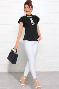 Tipsy tops 221 black