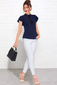 Tipsy tops 223 blue