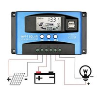 MPPT TECHNOLOGY SOLAR CHARGE CONTROLLER