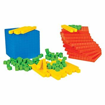 Base and place Value kit model