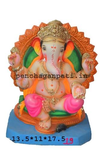 13.5X11X8X17.5 Inch Lord Ganesh Statue