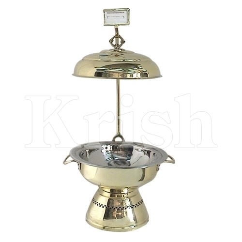 Neptune Brass Plated Chafing Dish