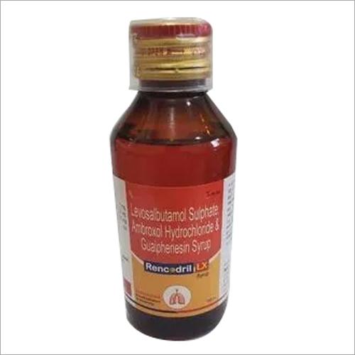 Levosalbutamol Sulphate Ambroxol Hydrochloride Guaiphenesin Syrup
