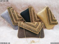 Evening flap over party clutch bags