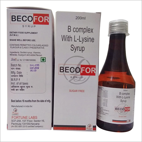 B Complex with L-Lysine Syrup