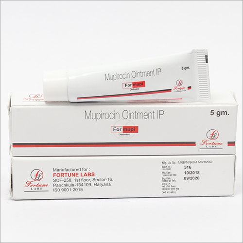 Mupirocin Pharmaceutical Ointment