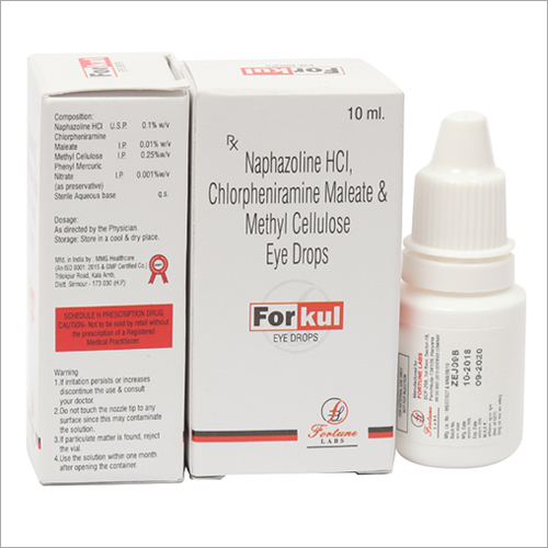 Naphazoline HCL Chlorpheniramine Maleate And Methylcellulose Eye Drops