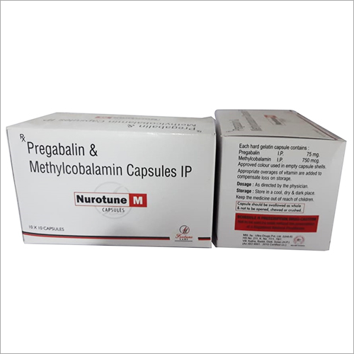Pregabalin And Methylcobalamin Capsule