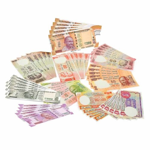 Dummy currency notes model