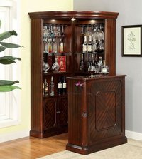 traditional bar cabinet