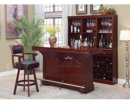 hand made bar cabinet