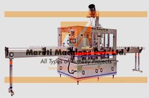 Linear Glass Bottle Filling Machine