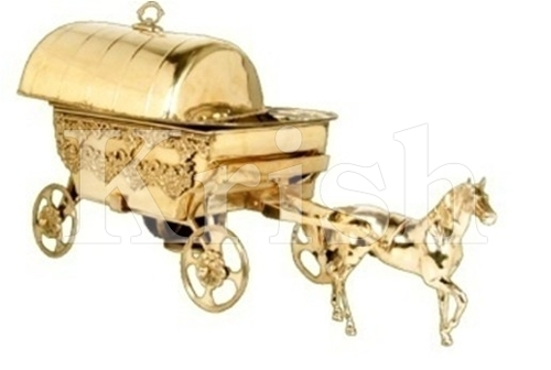 Golden Chariot Chaffing Dish