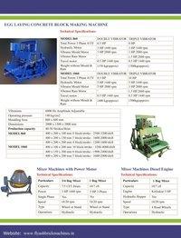 Fly Ash Brick Machine 8 Bricks Per Stroke