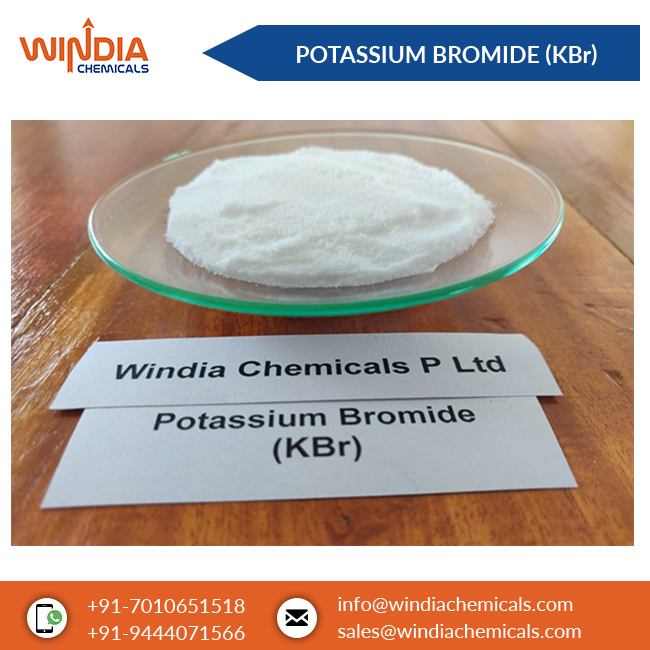 Anhydrous Potassium Bromide (KBr)