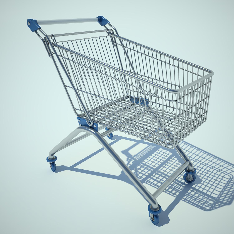 SS Wiremesh trolley