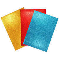 Fluorescent Pigments for Glittery Sheets