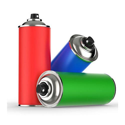 Fluorescent Pigments For Aerosole Paints