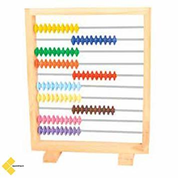 Frame abacus model