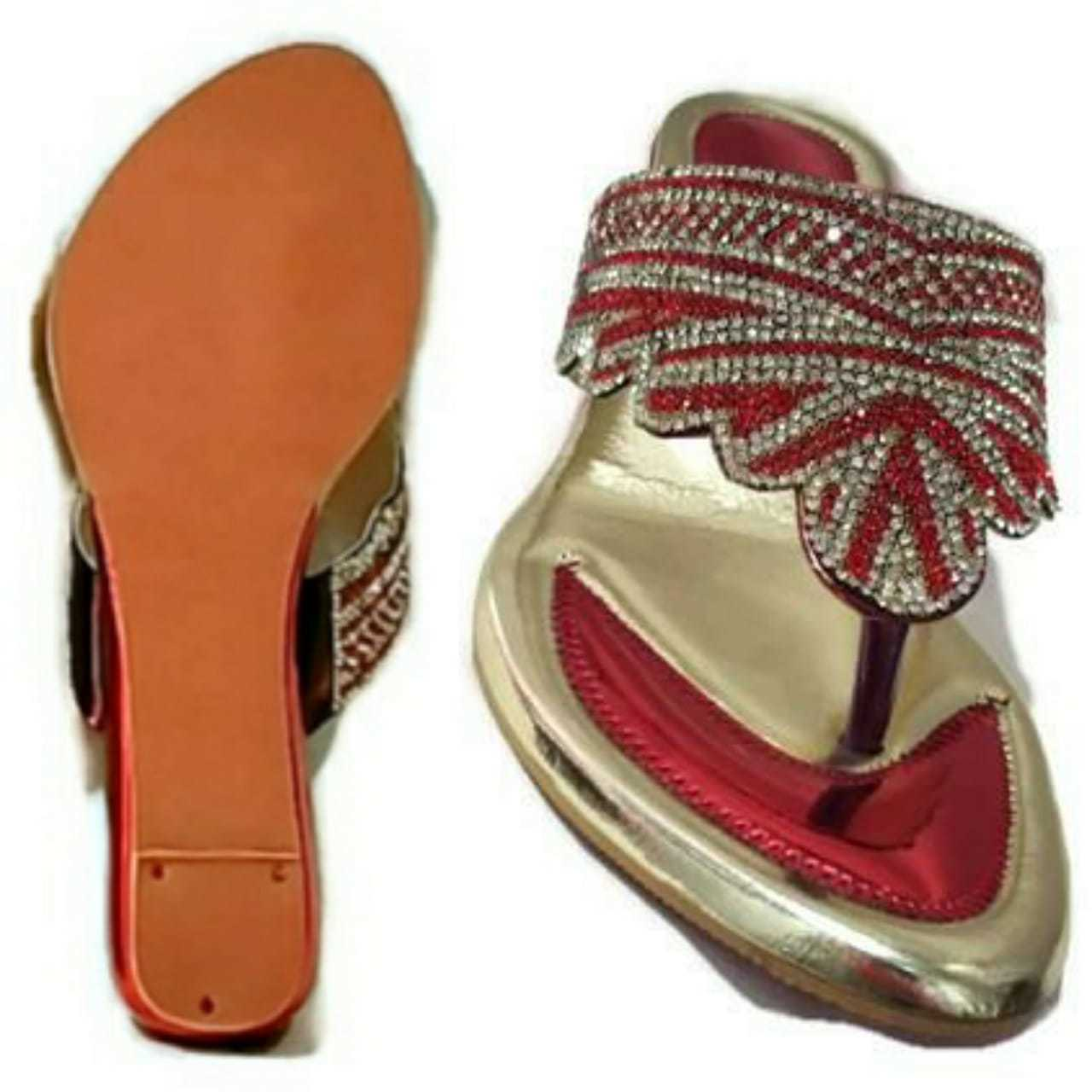 Sandal Synthetic beaded