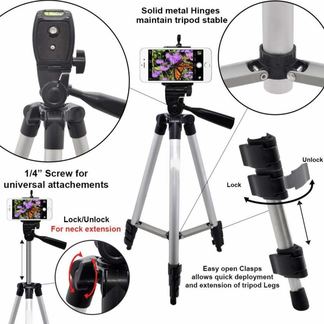 3888 Portable and Foldable Camera Mobile Tripod