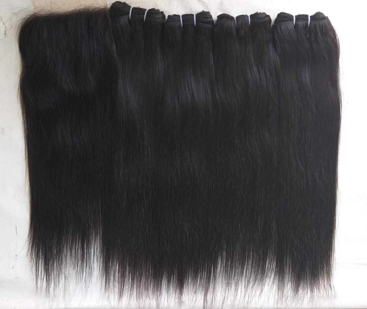 Raw Remy Straight human hair,Wholesale High Quality Straight Human Hair bundles