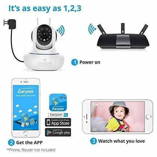 IP01A WiFi Wireless HD IP Security Camera